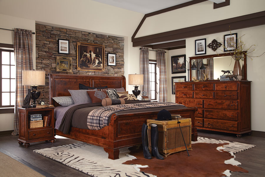 Imperial Sleigh Bed.